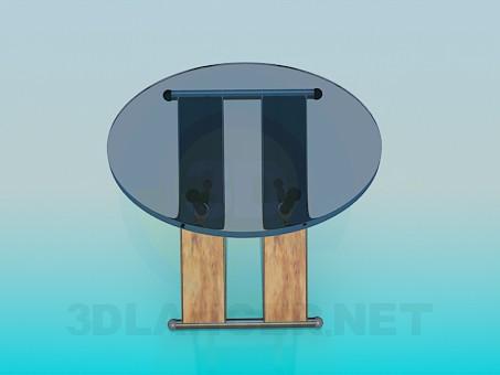 modelo 3D Mesa plegable - escuchar