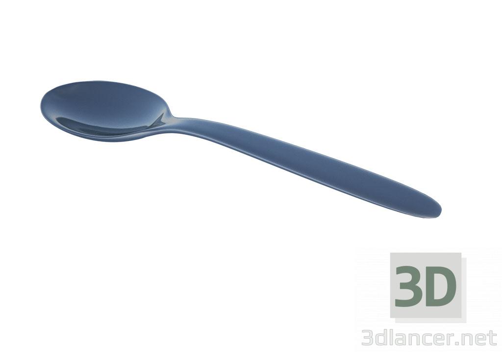 3d model teaspoon - preview