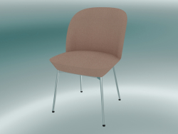 Oslo Chair (Twill Weave 530, Chrome)