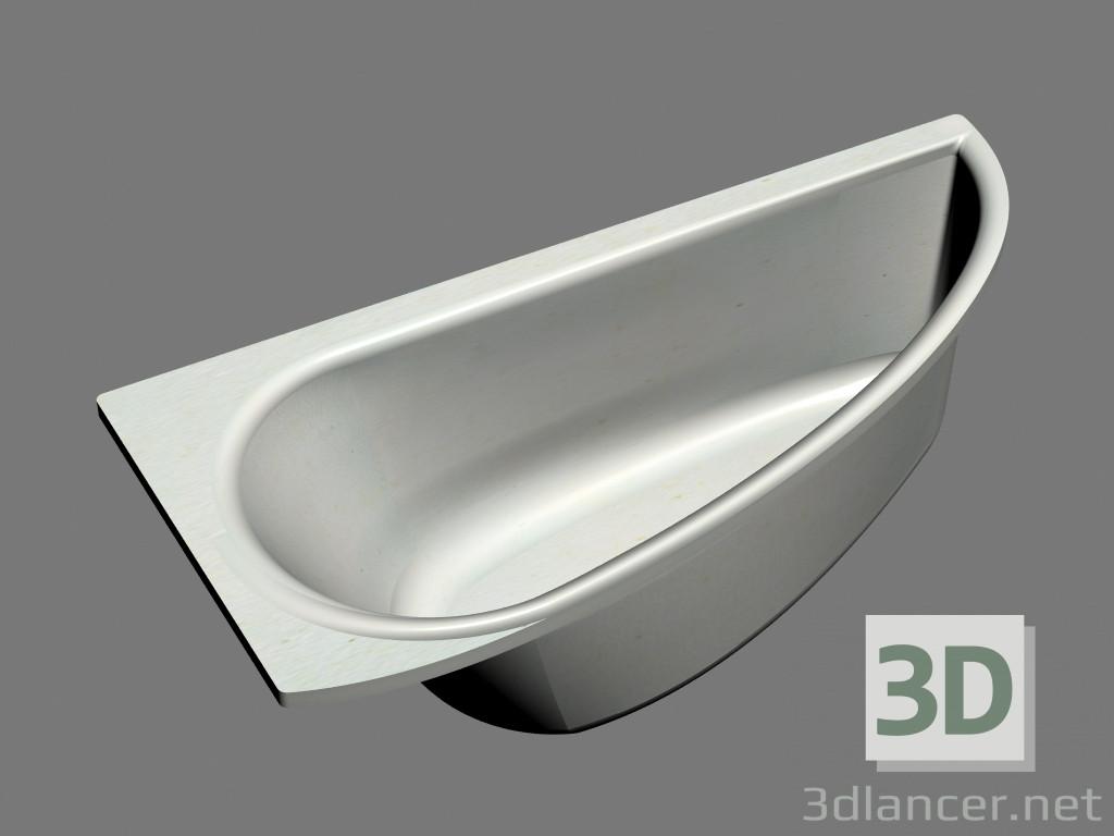 Vasca Da Bagno Asimmetrica : D modella vasca asimmetrica avocado l dal produttore ravak