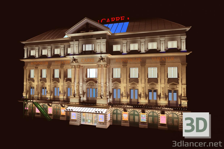 3 डी मॉडल कैर थिएटर एम्स्टर्डम - पूर्वावलोकन
