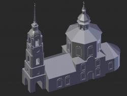 Суздаль. Борисоглебская церковь