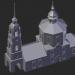 3d model Suzdal. Borisoglebskaya Church - preview