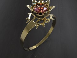 "Ring ""The Scarlet Flower"""