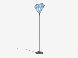 Floor Lamp (Blue Dark)