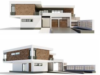 Minimalism villa