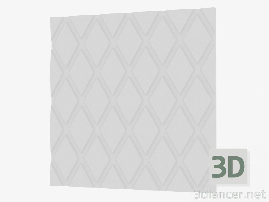 3d model 3D panel wall,3D Wall Panels max(2013), - Free