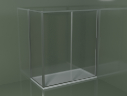 Box doccia angolare ZN + ZG 180 con porta scorrevole