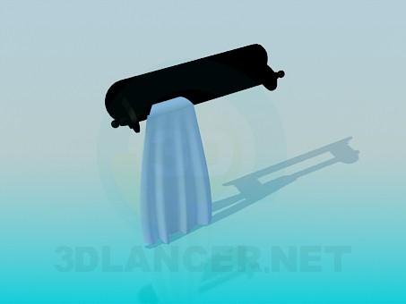 3d modeling Towel rack model free download