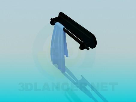 3d model Towel rack - preview