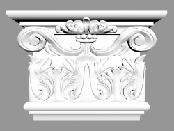 Pilaster (capital) PL578LR