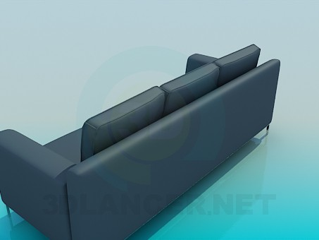 3d model Sofa in strict style - preview