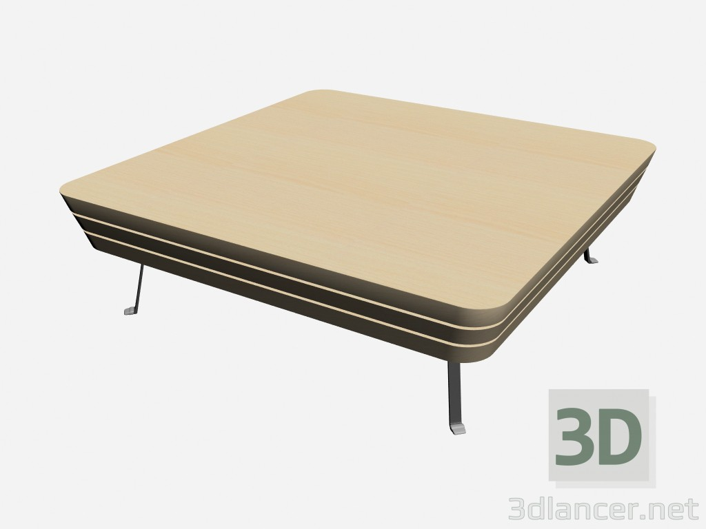 3d model coffee table john 3 il loft collection low tables for Coffee table 3d model