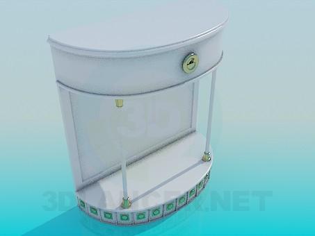 3d модель Подставка под телевизор – превью