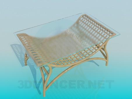 descarga gratuita de 3D modelado modelo Mesa de centro