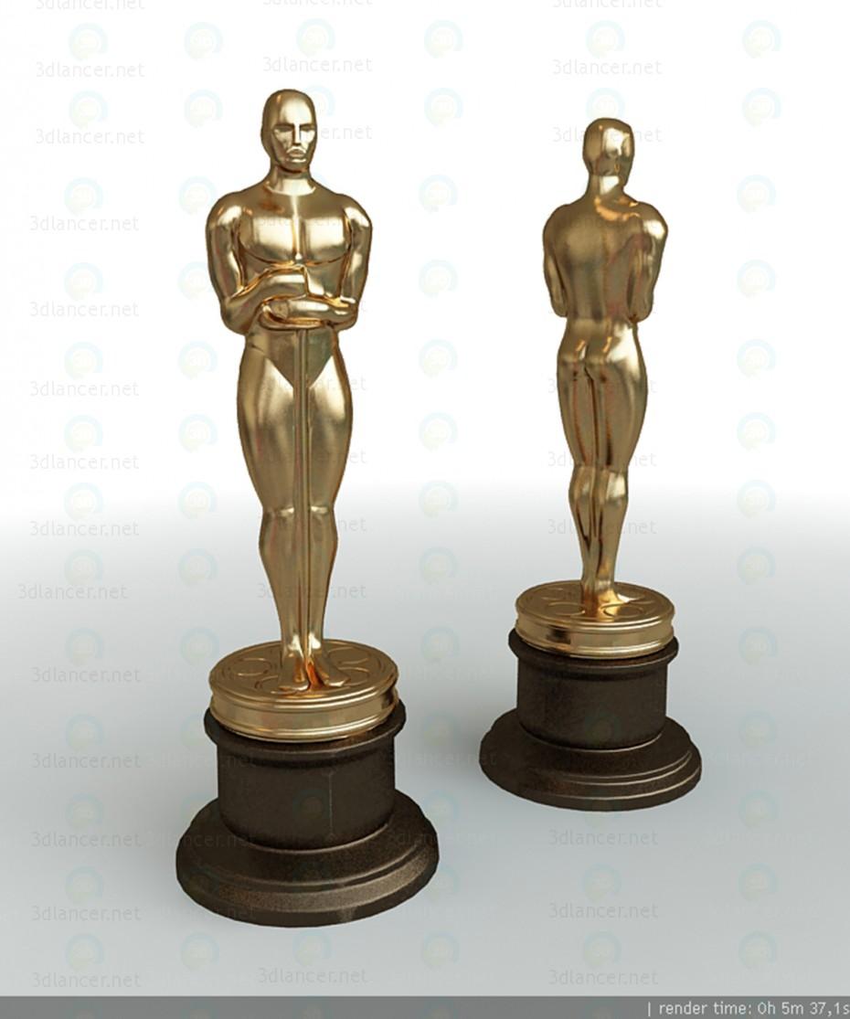 3d model Oscar Statuette - preview