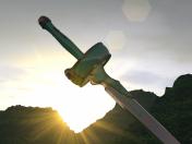 Lanbent ligth, asuna sword sword art online
