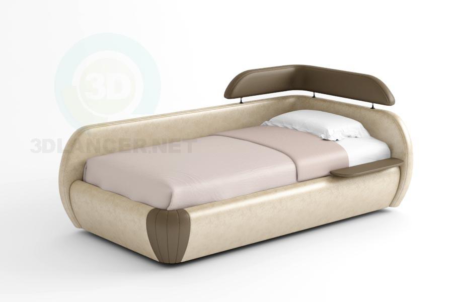 3d модель Ліжко Авеста – превью