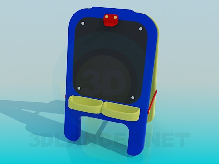 3d modeling Children's Drawing Board model free download