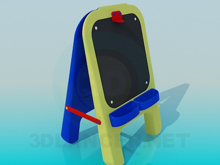 3d model Children's Drawing Board - preview