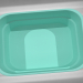 3d model Plastic swimming pool - preview