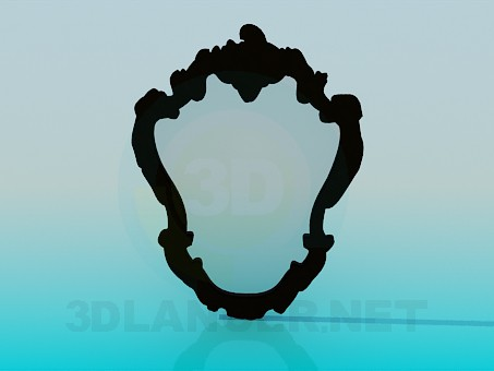 3d model Mirror finishing - preview