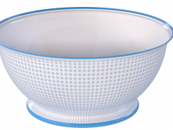 Porcelain bowl with a pattern