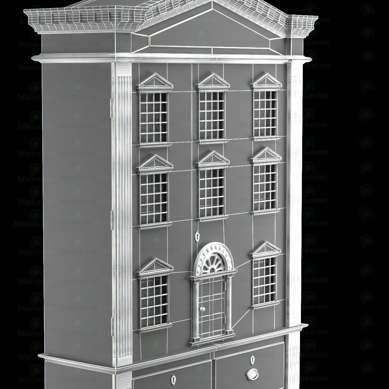 3d Ляльковий будинок ШАФА модель купити - зображення