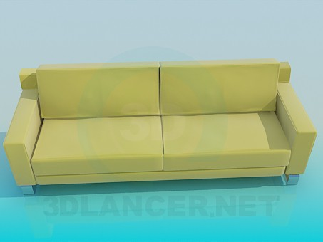 modelo 3D Sofá - escuchar