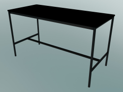 Rectangular table Base High 85x190x105 (Black)