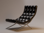 Chair Barcelona 3D - Chair Barcelona