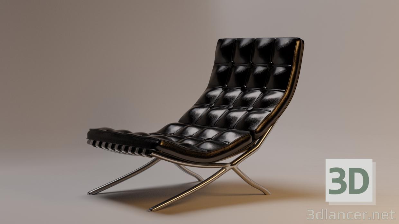 3 डी कुर्सी बार्सिलोना 3 डी - कुर्सी बार्सिलोना मॉडल खरीद - रेंडर