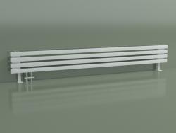 Radiateur horizontal RETTA (4 sections 2000 mm 40x40, blanc brillant)