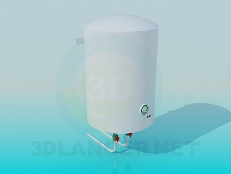 3d model Electric water heater - preview