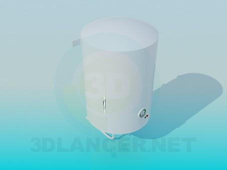 modelo 3D Calentador de agua eléctrico - escuchar