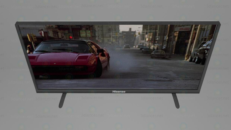 3d Телевизор TV Hisense N50K3801 модель купить - ракурс