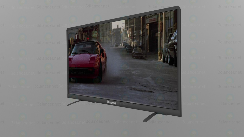 3d LCD TV Hisense N50K3801 model buy - render