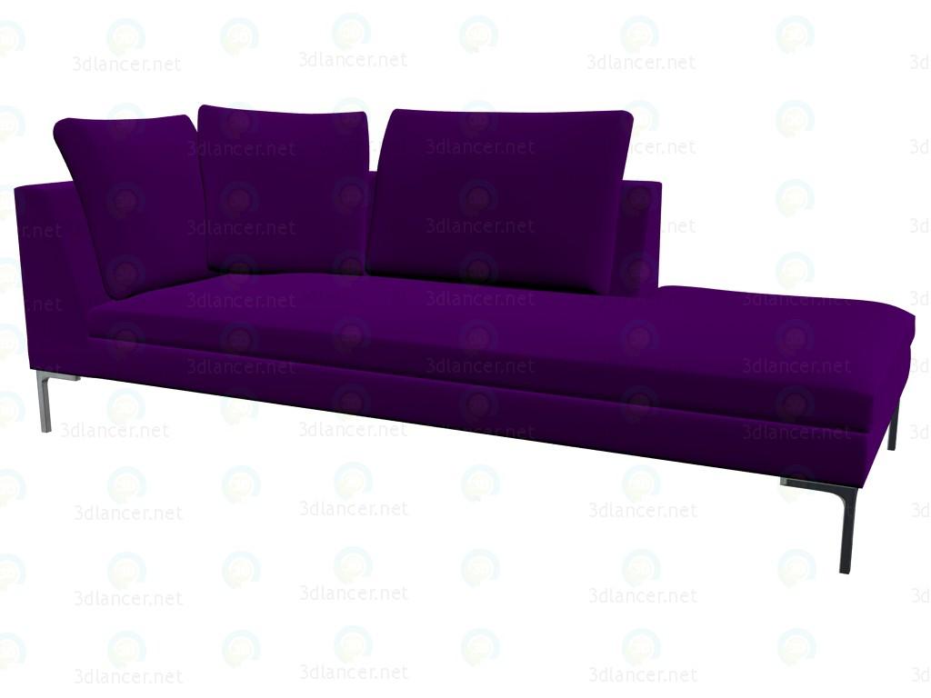 3d model Modular sofa (230x97x73) CH228LD - preview
