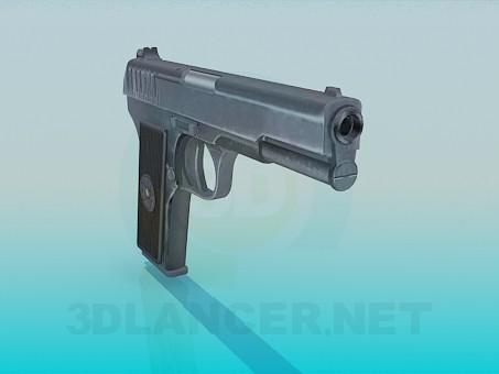 descarga gratuita de 3D modelado modelo Pistola TT-33