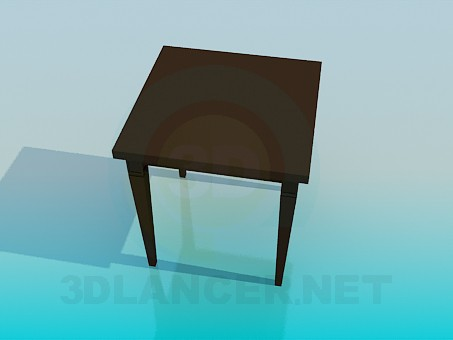 3d модель Чайный столик – превью