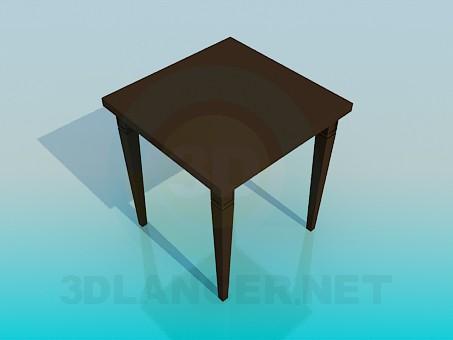 3d модель Чайний столик – превью