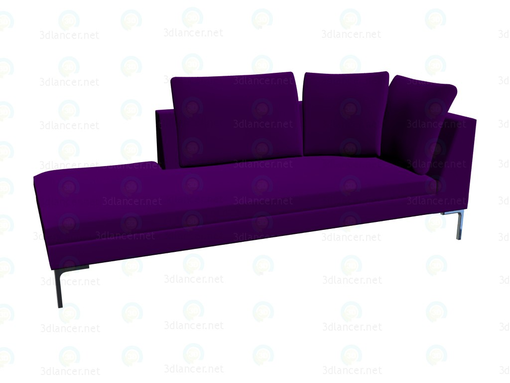 3d model Modular sofa (230x97x73) CH228LS - preview
