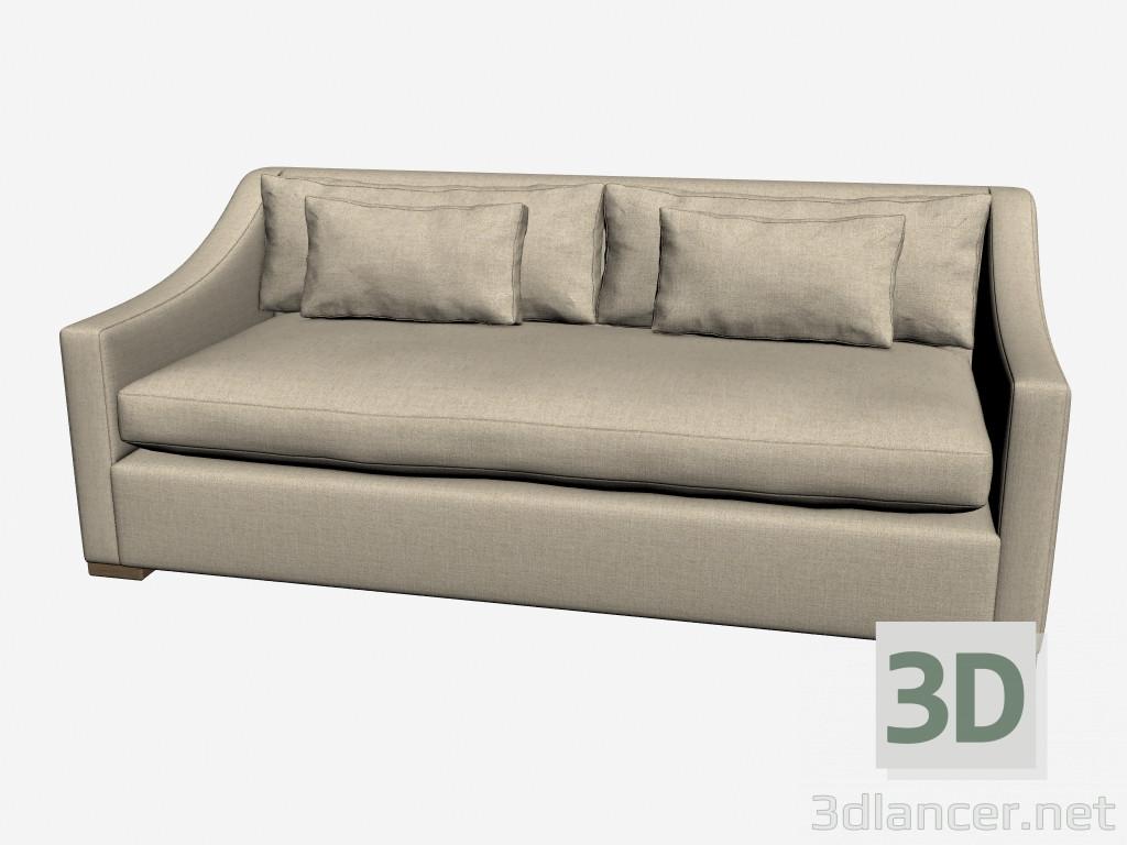 3d model sofa bed puffy 104 001 sb f01 manufacturer for Sofa bed 3d model