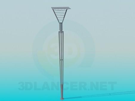 3d модель Факел – превью