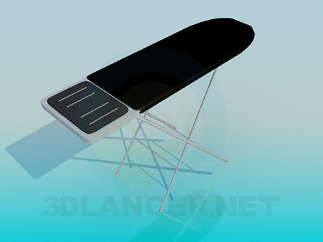 3d model Ironing board - preview