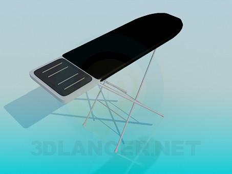 modelo 3D Mesa de planchar - escuchar