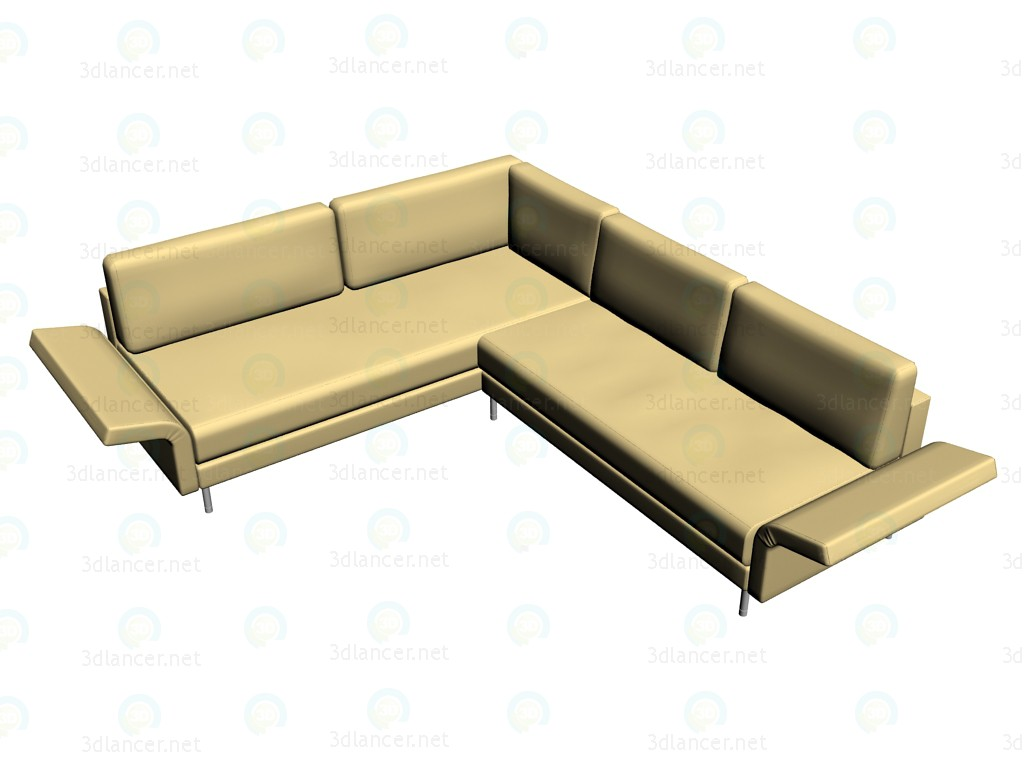 3d model Sofa Vida (204 combination 4) - preview