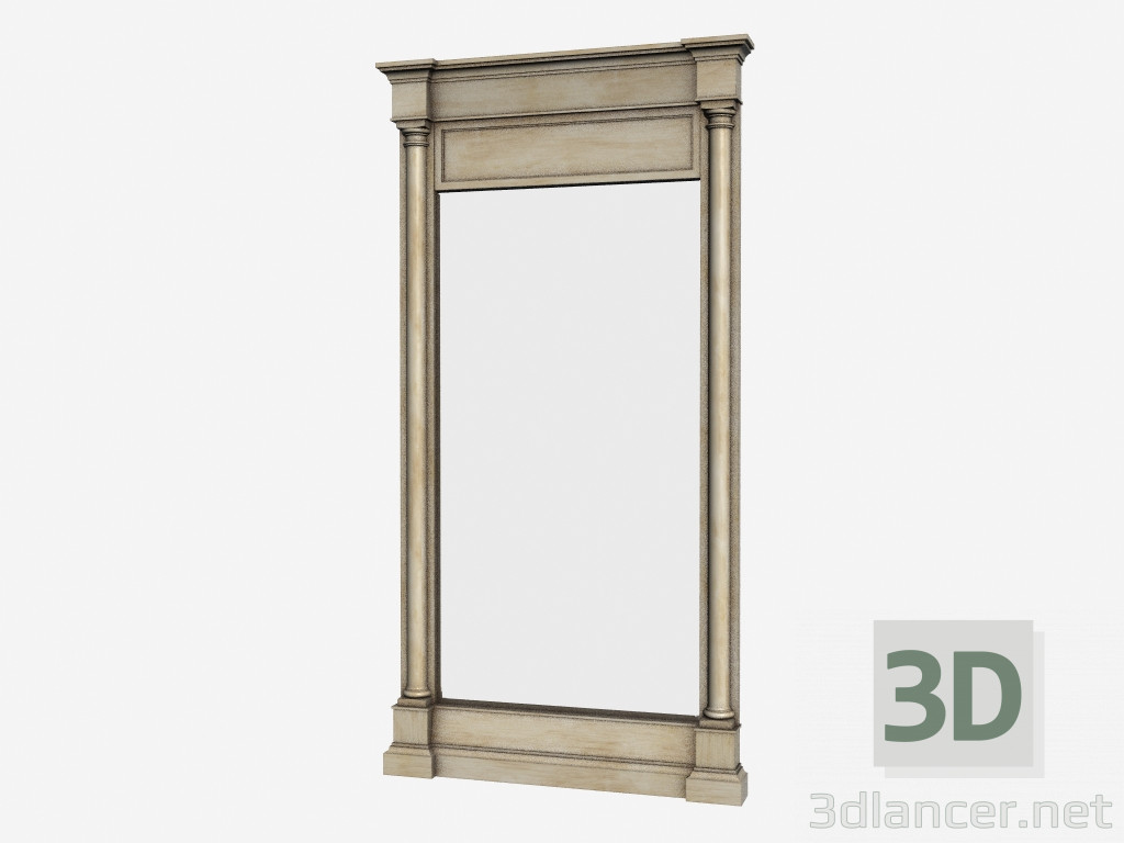 3d model rachel mirror 901 003 manufacturer gramercy for Mirror 3d model
