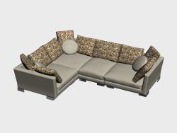 Corner sofa Tennessee (I-variant)