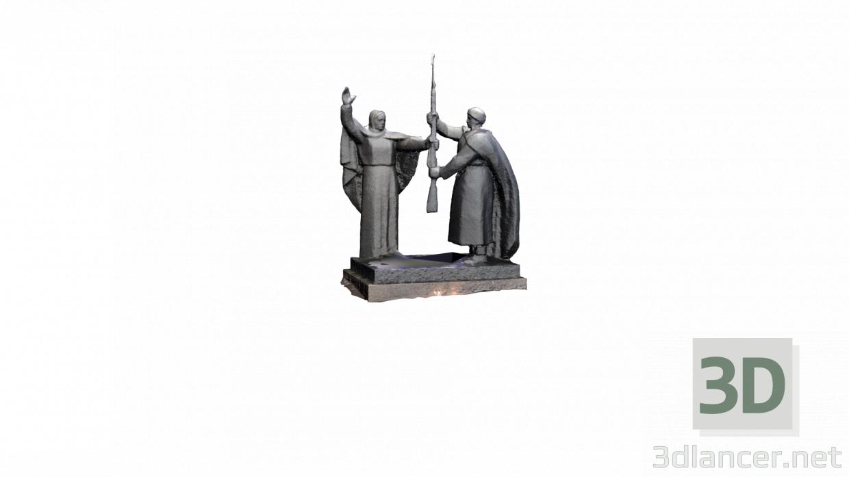 3 डी मॉडल मातृभूमि अपने बेटे को हथियार देती है - पूर्वावलोकन